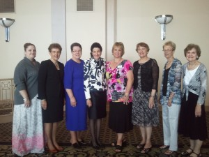 Maine AAUW Members with Senator Olympia Snowe at 2013 National AAUW Convention